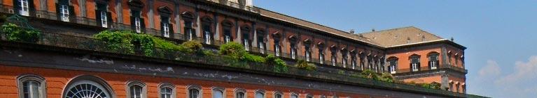 Napoli -  il bellissimo Palazzo Reale