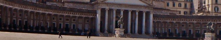 Napoli - la famosa Piazza del Plebiscito