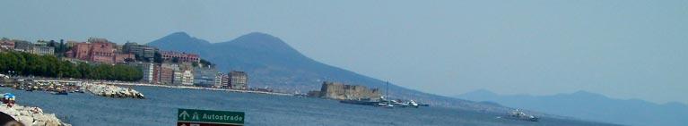 Napoli - il lungomare della Riviera di Chiaia